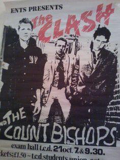 The Clash play Dublin city