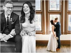 Steve + Amanda – Turner Hall Wedding | Jenna Leigh Sequin wedding dress by MinkMaids www.minkmaids.com