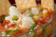 Ceviche guatemalteco de camarón