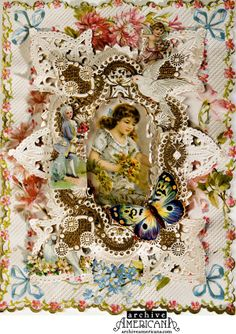 vintage-victorian-valentine-c1860 #EasyPin