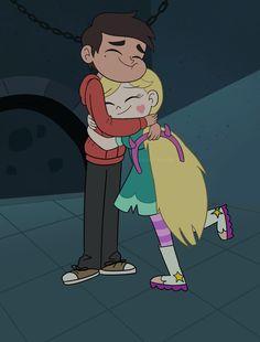 Me: Star hugs Marco the same way I hug my mom❤️ Cute Wallpaper Backgrounds, Cute Cartoon Wallpapers, Love Wallpaper, Cartoon Pics, Disney Wallpaper, Cartoon Characters, Star E Marco, Power Of Evil, Starco Comic