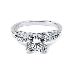tacori engagement ring with center diamond. 1.12 carat total weight, $3,995!