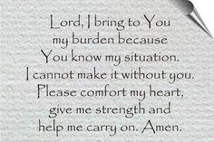 God, I need you!