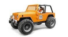 Jeep Cross Safari Aracı & Kasklı Pilotlu - Turuncu 02542