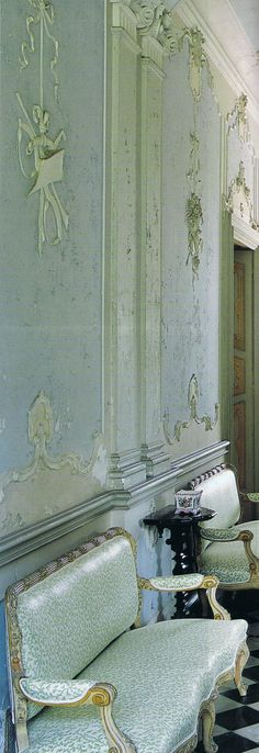 Villa Sommi Picenardi   17th century home in Northern Italy. World of Interiors march 09