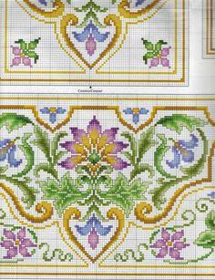 Stylized floral dense design g |