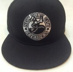 LIMITED EDITION  NEW YORK CITY BREAKERS OFFICIAL SNAPBACK CLASSIC BBOY STYLE NYCB RETRO CLASSIC #BBOY #BREAKDANCE #HIPHOP