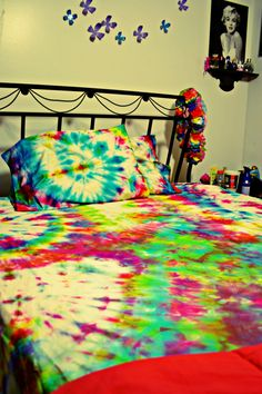 Hey, I found this really awesome Etsy listing at https://www.etsy.com/listing/177249964/tie-dyed-bed-sheets