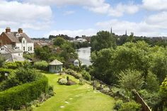 A town house with great views over the River Severn