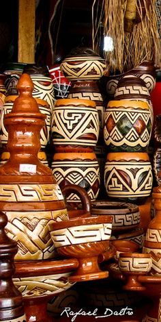 Marajoara pottery from the north of Brazil   Handicrafts From ...