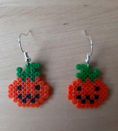 Mini Hama Beads, Hama Mini, Fuse Beads, Cute Earrings, Bead Earrings, Crochet Earrings, Hama Beads Patterns, Beading Patterns, Perler Bead Art