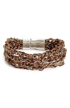 Main Image - Treasure&Bond Thread Layer Chain Thread Bracelet