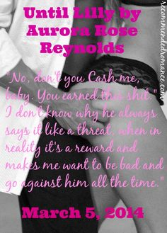 aurora+rose+reynolds | Until Lilly by Aurora Rose Reynolds Release Blitz and Giveaway