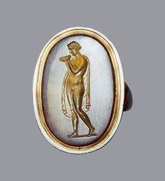 Methe, goddess of drunkenness, Egypt, Aulus workshop, 1st century BC.