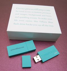 Flash drive press kit by Tiffany's