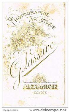 LESSAVE G. - Alexandrie, Egypte