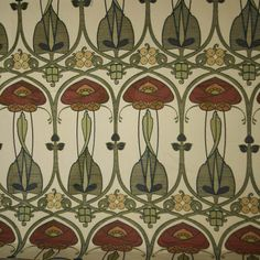 45 Ideas for wall paper art nouveau charles rennie mackintosh Charles Rennie Mackintosh, Art Nouveau Bedroom, Art Nouveau Furniture, Bedroom Art, Bedroom Paintings, Motifs Art Nouveau, Art Nouveau Design, Arts And Crafts Movement, Craftsman Wallpaper