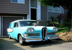 Edsel Roundup 2 dr station wagon