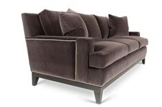 Cole Velvet Sofa | Vielle and Frances