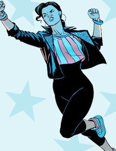 America Chavez and Her Star-Spangled Wardrobe