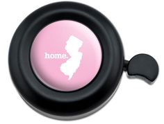 Amazon.com : Cool and Custom {Fully Adjustable to Fit Most Bikes} Bicycle Handlebar Bell Made of Hard Metal with Classy Spotted Letter L Design {Black, Pink and White Colors} : Sports & Outdoors