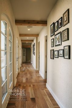 This hallway is lined with windows/doors overlooking the courtyard. - CD Construction #1