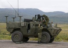 new Candian Tactical Armoured Patrol Vehicle (TAPV)