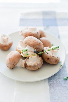 #food photography #organic cremini mushrooms #inspiration | Au Petit Goût