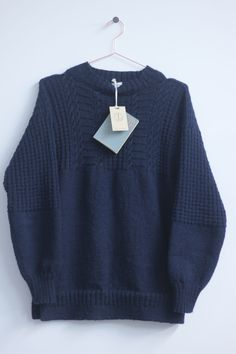 <div id='t1'>Dawson Denim knitwear is hand made in Suffolk, Great Britain with 60 years of experience in hand knitting. Each piece takes 6 weeks to make and each one is made to order.The Gansy is a classic knitwear shape made for sailors to keep warm and dry. Our Gansys are made from 100% British Worsted 5-ply Guernsey Wool, this wool is spun and died in Yorkshire, UK.This 5-ply wool is spun tightly so as to expel water and the design of the Gansy is usually ...