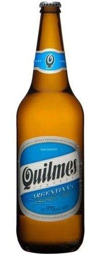 Cerveja Quilmes Cristal, estilo Standard American Lager, produzida por Quinsa, Argentina. 4.9% ABV de álcool.