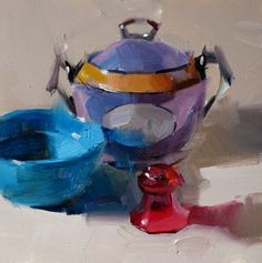 Blue Purple and Red -- Qiang Huang
