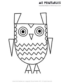 Bird coloring pages - let's be honest, this is for me too.