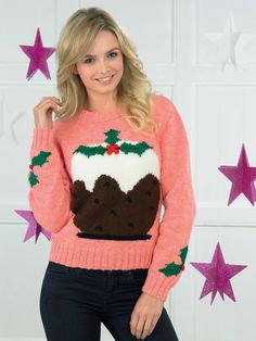 a757562395ea 10 Best Christmas pudding jumper images