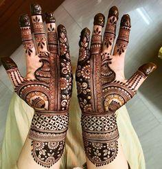 Bridal Henna Mehndi Designs for Full Hands Floral Henna Designs, Indian Mehndi Designs, Stylish Mehndi Designs, Full Hand Mehndi Designs, Mehndi Designs 2018, Mehndi Designs For Girls, Henna Art Designs, Mehndi Designs For Beginners, Wedding Mehndi Designs
