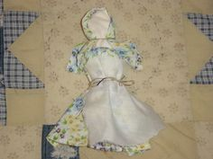 fabric doll for Little House party