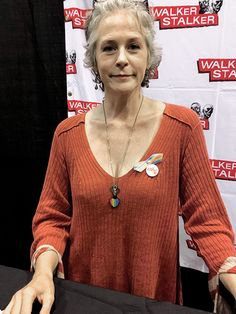 """Melissa McBride at Fan Fest Orlando (September 17, 2016) """"  Pulse of Orlando: HUGE shout out and thank you to Melissa McBride, aka Carol on The Walking Dead, for her support!! Our very own volunteer, Diana Mitchell, gave Melissa..."""