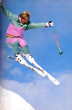 Rad ski style - Throwback Thursday!