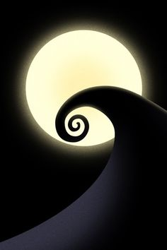 swirly hill nightmare before christmas - A Nightmare Before Christmas