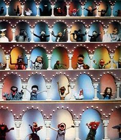 the muppet show opening...loved the 2 old men!!