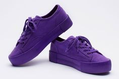 H&M PURPLE SNEAKERS