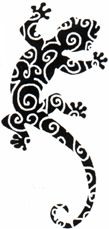small gecko tattoo - Google Search