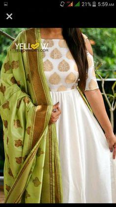 28 Super ideas for dress designer indian color combinations Dress Indian Style, Indian Dresses, Indian Outfits, Salwar Designs, Mehndi Designs, Churidhar Designs, Blouse Designs, Indian Attire, Indian Wear