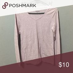 Long Sleeve Shit Light purple long sleeve shirt -  (Trying to get rid of stuff so if you don't like the price, but like the item? Make me a REASONABLE offer and I'll accept!) Sonoma Tops Tees - Long Sleeve