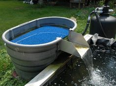 stock tank pond design - Google Search