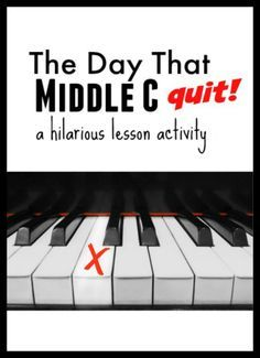 The Day That Middle C Quit… Amazing activity to begin integrating composing and personal expression.