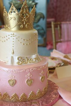 Princess birthday cake - Wow! Wasn't sure if I should categorize as food or just pretty...pretty it is! :)