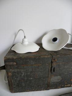 luminaires en céramique home made
