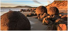 Moeraki Boulders, New Zealand.  One of the first places I visited in my new home.