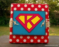 Personalized Superman Gift Wrap Photo by muchwisor | Photobucket