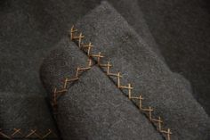 Inspiration - A nice seam finish. Othala Craft - Viking and Slavic clothing